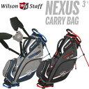 ウイルソン WILSON STAFF NEXUS 3 CARRY BAG 9.5型 スタンド キャデ...