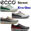 日本正規品 2014年 ECCO(エコー)GOLF STREET EVO ONE ゴルフストリートエヴォワン スパイクレス ゴルフシューズ 150204 【532P16Jul16】