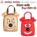 日本正規品 ノイジーノイジー ミエコ ウエサコ noisy noisy by mieko uesako NOISY 90067 レディース ゴルフ シューズケース【Happy smile】