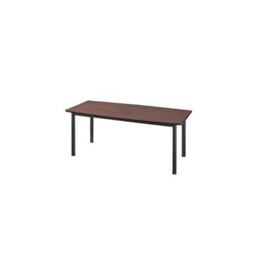 【送料無料】 大型会議テーブル W1800×D900×H700mm LBA-1890 ELANSA 深みのあるウッド調大型会議テーブル【雰囲気】