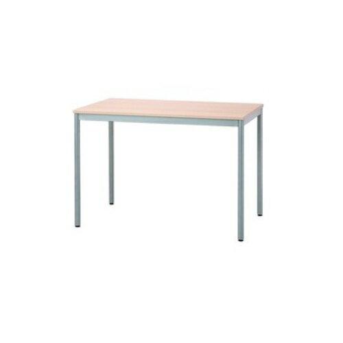 【送料無料】 ユニットテーブル ナチュラル W1000×D600×H700mm HEM-1060NM ナカバヤシ シンプルデザインで狭いスペースにもおすすめ