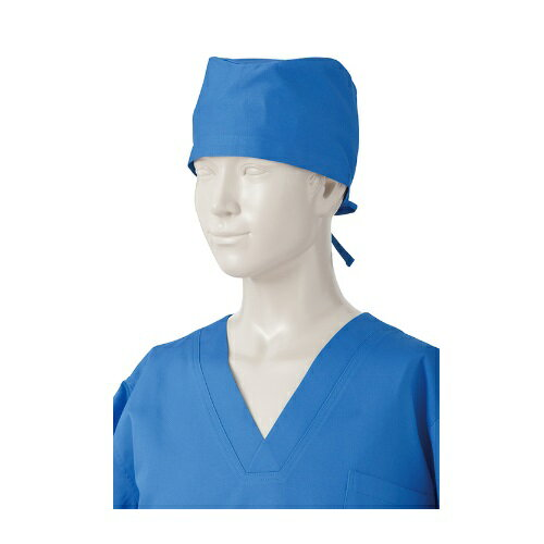 KAZEN 手術帽子 後ろヒモ式 2枚入 197-61・62