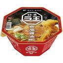 日清 ラ王 背油コク醤油 115g×1ケース(12食入) 日清食品