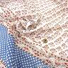 【店内全品ポイント5倍】○インドボイルプリント生地(ハンドスクリーン・手捺染)/VOI-5-B[生地/布/インテリア/洋服]