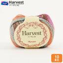 秋冬毛糸 『Harvest(ハーヴェスト) 10番色』 Olympus オリムパス オリンパス