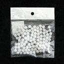 【店内全品ポイント5倍】◎素ボール 8mm(100コ入り) [発泡スチロール/球/丸/工作/コスプレ資材]