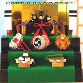 パナミ クラフトビーズで作る クリスタル兜の三段飾り/CR-50 [Panami/五月人形/節句人形/子供の日/端午の節句キット]