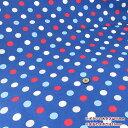 【スーパーセール期間中♪店内全品ポイント5倍】○ルシアン ColorBasic 20オックス 15mm 水玉/4601-LZ[生地/布/カラフルドット/LECI...