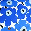 ショッピングマリメッコ 【数量5から】 生地 『マリメッコ ピエニウニッコ ブルー (フィンランド製)』