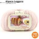 秋冬毛糸 『Alpaca Leggero(アルパカレジェーロ) 11番色』 Richi More リッチモア