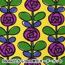 【数量5から】生地 『10番キャンバス バラ UP5693-B う早この布』 COTTON KOBAYASHI コットンこばやし 小林繊維