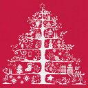 【刺しゅうキット最大30 オフ】 刺しゅうキット 『Christmas Tree 赤 JPBK557R』 DMC ディーエムシー