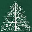 ★DMC Christmas Tree 緑/JPBK557G [クリスマス/クロスステッチ/刺しゅうキット]