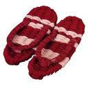 Panami(パナミ) 健康布ぞうり やんわり パート1 赤/YW-1 製作キット スリッパ/布ぞうり/布わらじ/室内履き
