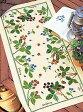 ★刺繍キット オリムパス テーブルセンター 1181/ベリー&ベリー [刺しゅうキット/ししゅう/クロスステッチ/]
