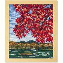刺しゅうキット 『クロスステッチ刺繍キット 日本の名所 紅葉の嵐山 7388』 Olympus オリムパス