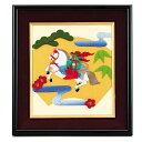 【処分スペシャル】★パナミ Panami 2014年干支午コレクション 押絵 縁起馬(白)/LH-76