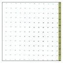 ○コスモ 刺繍布 ジャバクロス粗目(大口販売) ホワイト/11