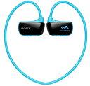 SONY ウォークマン NW-W274S(L) ブルー 8GB ヘッドフォン一体型 防水タイプ 【送料無料(沖縄県を除く)】