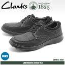 送料無料 クラークス CLARKS カジュアルシューズ COTRELL EDGE ブラック オイリーレザー(26120211)靴 スニーカー 天然皮革メンズ(男...