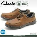 送料無料 クラークス CLARKS カジュアルシューズ COTRELL EDGE トバコ オイリーレザー(26119804)靴 スニーカー 天然皮革メンズ(男性用)
