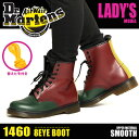1460 LACE LOW BOOT GREEN CHERRY RED BLACK YELLOW 16173310