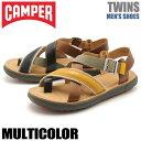 送料無料 カンペール(CAMPER) ツインズ マルチカラー(CAMPER TWINS K100054 002)メンズ(男性用) 靴 サンダル カジュアル シューズ 天然皮革