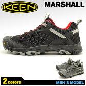 送料無料 キーン(KEEN)マーシャル MARSHALL 全2色 トレッキングシューズ(KEEN 1010166 1010167)メンズ(男性用) スニーカー アウトドア ウォーキング ハイキング シューズ キャンプ フェス ローカット 20P30May15