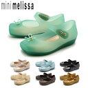 ミニ メリッサ MINI MELISSA ラバーシューズ バレエ SP BB 全7色MELISSA 31465 BALLET SP BBキッズ&ジュニア(子供用) パンプス ラバー レインシューズ マジックテープ ベルクロ アンクルストラップ ぺたんこ リボン 女の子