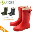 エーグル レインブーツ ウッディー ポップ 全3色AIGLE WOODY POP 24330 24332 24337ラバー ブーツ 長靴 ロング 雨 雪 防水 アウトドアキッズ&ジュニア(子供用)