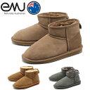 送料無料 エミュー 海外 正規品 ムートンブーツ スティンガー マイクロ 全3色 (EMU AUSTRALIA W10937 STINGER MICRO)レディース(女性用) ショート ブーツ シープスキン ぺたんこ
