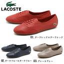 ラコステ LACOSTE トリラ BHH SPW 全3色TRILLA BHH SPW WAA131 レディース(女性用)オックスフォード シューズ レザー 天然皮革 靴