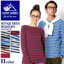 送料無料 セントジェームス SAINT JAMES 長袖Tシャツ MINQUIERS MODERNE 全11色MINQUIERS MODERNE 9858トップ...