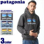 送料無料 PATAGONIA パタゴニア メンズ ライン ロゴ ミッドウェイト プルオーバー フード スウェットシャツ 全3色LINE LOGO MIDWEIGHT PULLOVER HOODED SWEATSHIRT 39422パーカー スエット ジャージ トップスメンズ(男性用)