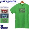 【DM便(旧メール便)可】 PATAGONIA パタゴニア スプルース 73 ロゴ コットン Tシャツ 全3色SPRUCED 73 LOGO COTTON T-SHIRT 38902半袖 クルーネック レギュラーフィット ウェアメンズ(男性用)