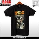 【メール便可】 ROCK CLASSIC ロック クラシック ザ・バンド ボブ・ディラン 半袖 Tシャツ ブラックTHE BAND BOB DYLAN BASEMENT TAPES PSP-BND-1001メンズ プリント Tシャツ クルーネック トップス