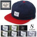 HERSCHEL SUPPLY ハーシェル サプライ アルバート キャップ 全8色ALBERT CAP 1020帽子 ハット ロゴ ベルトメンズ(男性用) 兼 レディース(女性用)