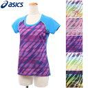 ASICS アシックス ジョギングウェア Tシャツ (W)AYランニンググラフィックTシャツ XX745N 01 18 41 76 90 全5色レディース(女性用)
