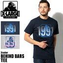 X-LARGE XLARGE エクストララージ ビハインド バー Tシャツ M15D1602 半袖 全2色BEHIND BARS TEEクルーネック カットソー...