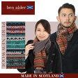送料無料 BEN ALDER ベン アルダー SCARF S661 スカーフ マフラー 全4色フェアアイル ピュア ニュー ウール ニット スコットランド マルチメンズ(男性用) 兼 レディース(女性用)