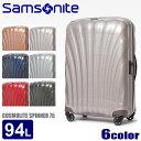 送料無料 SAMSONITE サムソナイト スーツケース コスモライト3.0 スピナー 75 COSMOLITE3.0 SPINNER 75 73351 94L 全6色キャリーケース キャリーバッグ かばん トラベル ビジネスメンズ(男性用) 兼 レディース(女性用) [大型荷物]