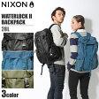 送料無料 NIXON ニクソン リュック ウォーターロック 2 バックパック 28L ブラック 他全3色NIXON WATERLOCK II BACKPACK C1952鞄 バッグ リュック デイパック アウトドア サーフィンメンズ(男性用) 兼 レディース(女性用)