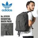アディダス オリジナルス adidas Originals リュックサック エッセンシャル バックパック グレーESSENTIAL BACK PACK AY9335鞄 バッグ リュック トレフォイル