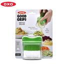 OXO オクソー べジヌードルカッター グリーン11151300 HAND-HELD SPIRALIZER野菜 料理器具 キッチン用品 スライサー ベジパスタ ベジヌードル 緑