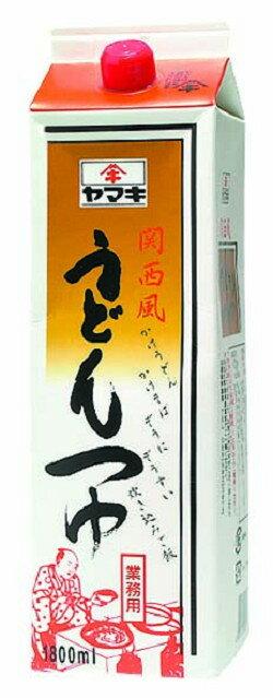 関西風うどんつゆ 1.8L ヤマキダシ うどん ...の商品画像