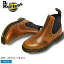 ドクターマーチン ブーツ Dr.Martens HARDY チェルシーブーツ ビタースコッチ 22827243 HARDY CHELSEA BOOTS BITTER SCOTCH 靴 シューズ サイドゴア オーリアンズレザー メンズ 男性 誕生日プレゼント 結婚祝い ギフト おしゃれ