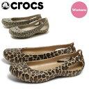 全国送料無料 クロックス カディ レオパード 全2色(crocs kadee leopard)ヒョウ柄 アニマル柄 クロッグ サンダル パンプス フラット シューズ 靴 レディース 女性