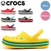 送料無料 クロックス クロックバンド 【4】全32色中8色 【海外正規品】crocs crocband 11016 メンズ(男性用) 兼 レディース(女性用) サボサンダル