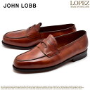JOHN LOBB ジョンロブ ローファー ブラウン ロペス...