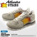 ATLANTIC STARS アトランティックスターズ スニーカー グレー アンタレス ANTARES SBB-63B メンズ ローカット